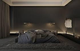dunkel gefärbte schlafzimmer eleganz und komfort dunkel