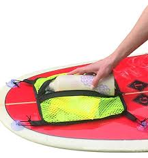 sup mesh deck bag paddleboard mesh deck suction bag sup kayak storage accessories