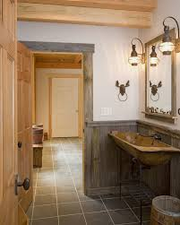 Splendid Lodge Home Accessories Decorating Ideas Gallery In Bathroom Rustic Design