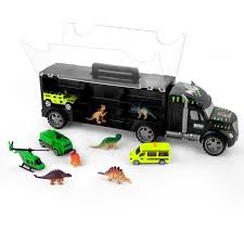 100 Toy Car Carrier Truck Buy Gifts2U Dinosaur Transport Rier With 6