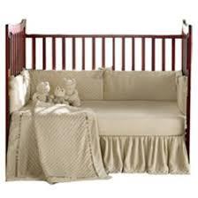 Baby Doll Bedding Sets Heavenly Soft Crib Bedding color Ecru