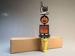 Travelers Pumpkin Beer by Jack O Traveler Pumpkin Ale Beer Tap Handle Tapper Traveler Beer