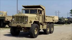 100 Army 5 Ton Truck M929A1 6x6 Military Vehicle AM General Dump YouTube