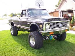 Old Lifted Chevy Trucks Luxury 72 Chevy Cheyenne Super 4×4 C20 With ...
