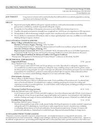 Sample Of Registered Nurse Resume Staff Example Newly Without Experience