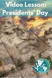 Video Lesson Presidents Day