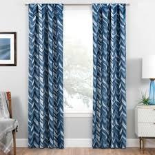 chevron curtains you ll love wayfair