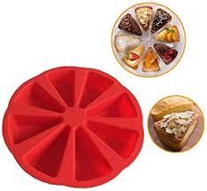byfri kuchen wannen behälter silikon kuchen form pudding 8 loch dreieck kuchen form backen werkzeuge muffin backen gelee kuchen tins zufällige farbe