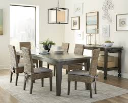 Delightful White Cloth Dining Room Chairs Tufted Chair ...