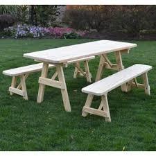 picnic tables you u0027ll love wayfair