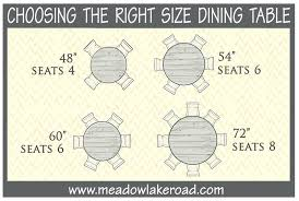 What Size Table Seats 8 Inspiring Kitchen Idea From Round Dining For Awesome Seat