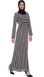 chic abaya dress black and tan stripe abaya maxi dresses