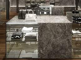 wandverkleidung aus feinsteinzeug mit marmor effekt grigio