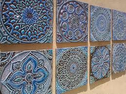 wall designs tile wall garden decor outdoor wall made