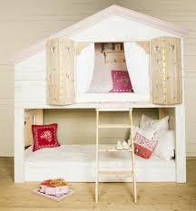 cabane chambre le lit cabane fille idées en images