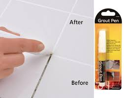 grout whitening pen reviver kitchen shower tile bathroom