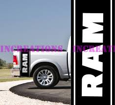 100 Ram Truck Decals Amazoncom Hemi Dodge Side Bed Stripes Mopar
