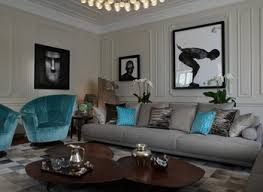 grey and turquoise living room fionaandersenphotography co
