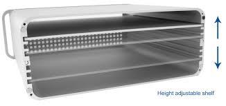 Imac Monitor Desk Mount by Stand V000m Vivo Height Adjustable Sleek Desktop Monitor Riser