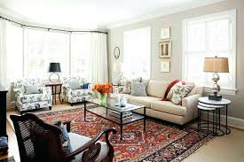 Persian Rug Living Room Best Oriental Rugs Placement In Rooms With Red For