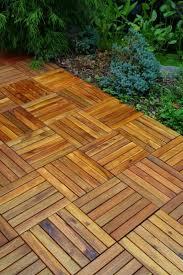 wood patio floor