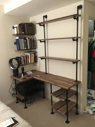 How To Make Wall Shelves Industrial Pipe And Wal Lshaped Desk With ... Barn Bookshelf Guidecraft G98058 How To Make Wall Shelves Industrial Pipe And Wal Lshaped Desk With Lawyer Loves Lunch Build Your Own Pottery Closed Bookshelf With Glass Front Lift Doors Like A Library Hand Crafted Reclaimed Wood By Taj Woodcraft Llc Toddler Bookcases Pottery Barn Kids Wood Bookcase Fniture Home House Bookcase Unbelievable Picture Units Glamorous Tv Shelf Bookcasewithtv Kids Wooden From The Teamson Happy Farm Room Excellent Ladder Photo Ideas Tikspor Ana White Diy Projects