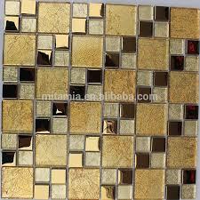 glitter goldfolie glas fliesen glasmosaik goldmosaik badezimmer fliesen design buy glas fliesen glas mosaik gold mosaik glitter gold folie glas