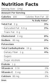 Quaker Granola Bars Nutrition Facts