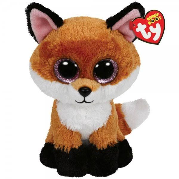 Ty Slick The Fox Beanie Boo Buddy