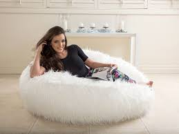 We Carry Ultra Soft Faux Fur Bean Bags That Are Perfect For Those Who Love Style And Comfort