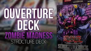 yu gi oh ouverture du deck de structure zombie madness sd2
