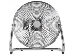 High Velocity Floor Fan Chrome by Ucount Rewards Goldair 18
