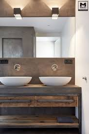 Diy Industrial Bathroom Mirror by Best 25 Rustic Modern Bathrooms Ideas On Pinterest Modern Diy