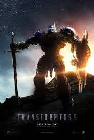Poster Of Transformers 5