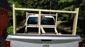 Wooden Truck Rack - YouTube