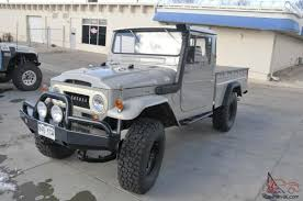 1966 Toyota Land Cruiser FJ45 Long Bed Pickup Truck - Fully Restored