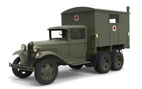 100 Aaa Truck Amazoncom MiniArt Models 135 GAZAAA With Shelter Model Kit Toys