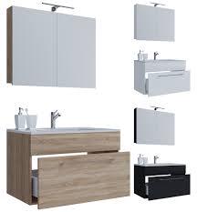 komplettprogramme vcm 3 tlg waschplatz badmöbel badezimmer