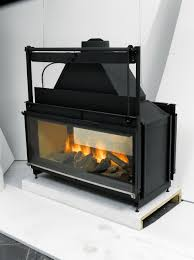 Awesome Best Zero Clearance Wood Burning Fireplace At Double Sided