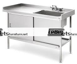 metal kitchen sink base cabinet stainless steel kitchen sink