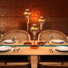 led glühbirne 5w e27 für sockel gold globo g125 vintage 2000k