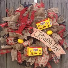 wreath cajun crawfish boil wreath by ladybug wreath designs my