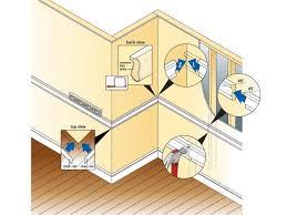 install a chair rail how tos diy
