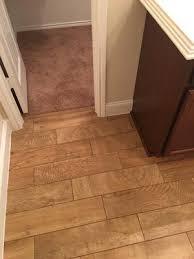 shop style selections woods porcelain floor tile common