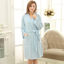 robe de chambre anglais en vente femmes coton serviette de bain robe d été peignoir