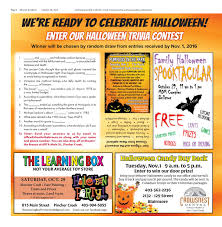 Leftover Halloween Candy Donation Canada by Shootin U0027 The Breeze U2013 Oct 26 2016 By Shootin U0027 The Breeze Issuu