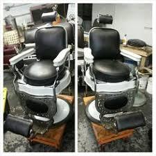 Emil J Paidar Barber Chair Headrest by 1stdibs Extraordinary Barber U0027s Chair By Ernest Koken Furniture