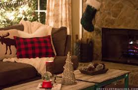 Rustic Lodge Inspired Christmas Decor Upcycledtreasures