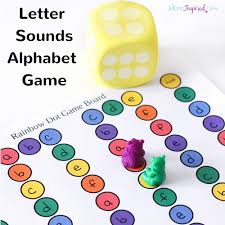 This Letter Sounds Alphabet Board Game Is A Really Fun Way For Preschool And Kindergarten Students