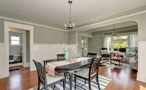 Cool Gray Dining Room
